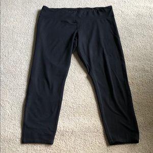 """Champion leggings 2XL inseam 25"""" Black"""